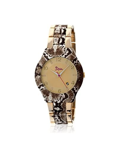 Boum Women's BM1303 Bombe Multicolor/Gold Metal Watch