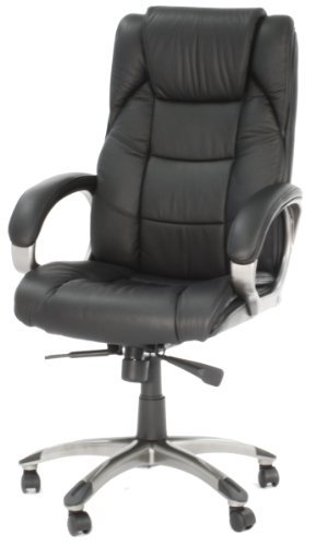 Northland Leather Executive Chair Colour: Black