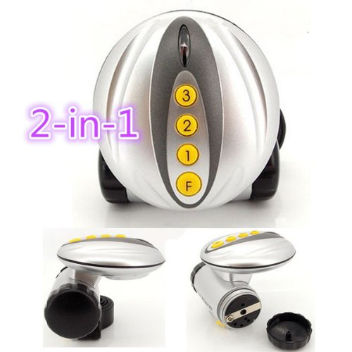 Bicycle Electric Bell Frontlight Cycling Bell Frontlight Two-In-One