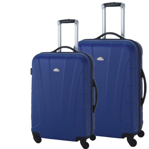 Reisetrolley Koffer Hartschale 2-teiliges ABS