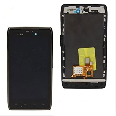 Click for LCD Touch Digitizer Screen + Frame Assembly for MOTOROLA DROID RAZR XT910| XT912