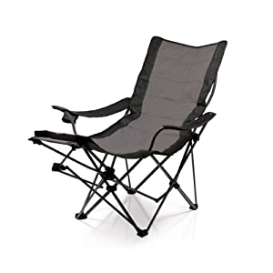 Picnic Time Portable Lounger Reclining Chair, Navy by Picnic Time