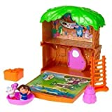 Dora the Explorer Let's Go Adventure Treehouse Mini Playset