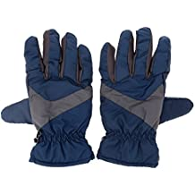Alcoa Prime 2Pcs/Pair Skiing Gloves Water Resistant Outdoor Sports Gloves Winter Skating Warm Thermal Gloves Blue