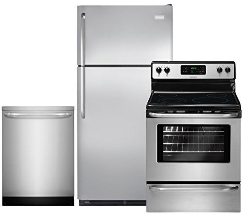 Frigidaire 3-Piece Stainless Steel Kitchen Package with FFTR18G2QS 30