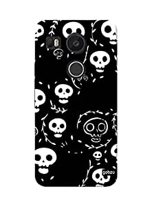 Gobzu Printed Hard Case Back Cover for LG Google Nexus 5X - Design_26