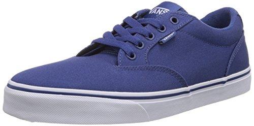Vans WINSTON, Low-Top Sneaker uomo, Blu (Blau ((Canvas) stv na F9N)), 42.5