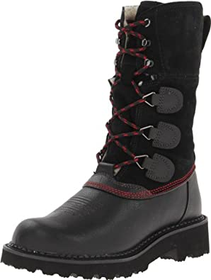 Ariat Women's Summit Boot,Black Deertan,5.5 M US