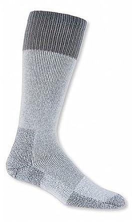 Thorlo Moderate Cushion Hunting Warm Weather Over-Calf Sock - Grey Large