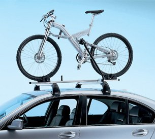 BMW Touring Mountain Bike Rack Attachment Fitting All BMW Roof Rack Systems MAIN ROOF RACK CROSS BARS ARE NOT INCLUDED