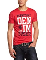 TOM TAILOR Denim Herren T-Shirt 10233560912/new college nos