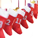 Calendario de Adviento Calcetines Garland (x24) - Maestro regalo