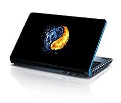 alterEgo Vinyl Laptop Skin- 15.4 IN, Yinyang