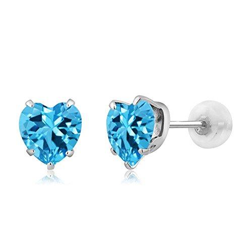 10k-white-gold-natural-swiss-blue-topaz-gemstone-birthstone-stud-earrings-190-cttw-6mm-heart-shape