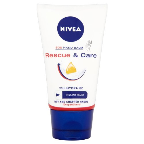 Nivea - Crema mani SOS Rescue and Care, 50 ml, 6 pz.
