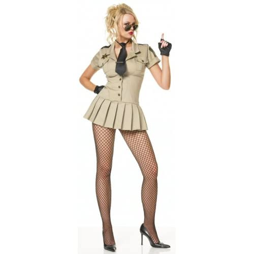 Naughty Sheriff Police Officer Halloween Costume
