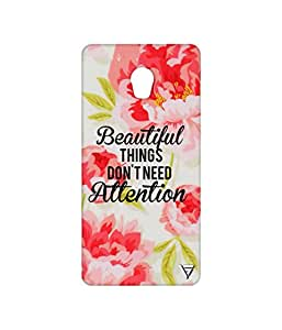 Vogueshell Beautiful Things Printed Symmetry PRO Series Hard Back Case for Lenovo Vibe P1