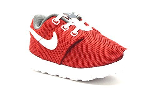 f55e5976c9f0d NIKE  749430-603  Roshe One (TDV) Infants Sneakers NIKEGYM Red White Dark  Grey Rouge GYMM (Color  603-gym ...