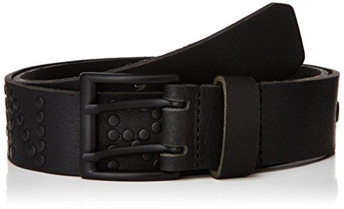 Japan Rags - CHBLACKCLOU0UNI, Cintura da uomo, nero (schwarz  (black)), 80 cm