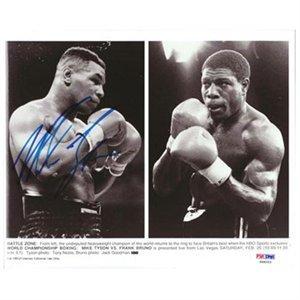 マイク・タイソンの絵の8 x 10 # s48253 psa dna認定の直筆サイン入り写真署名ボクシング