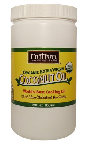 Nutiva Organic Extra Virgin Coconut Oil, 29oz