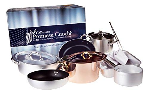 Set Batteria Pentole Professionale PROMESSI CUOCHI