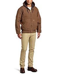 Carhartt Men's Big & Tall Quilted Flannel Lined Sandstone Active Jacket J130,Brown  (Closeout),X-Large Tall