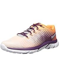 Reebok Women S Zstrike Elite Running Shoe White/Pure Silver/Steel/Electric Peach/Orchid 6 B(M) US