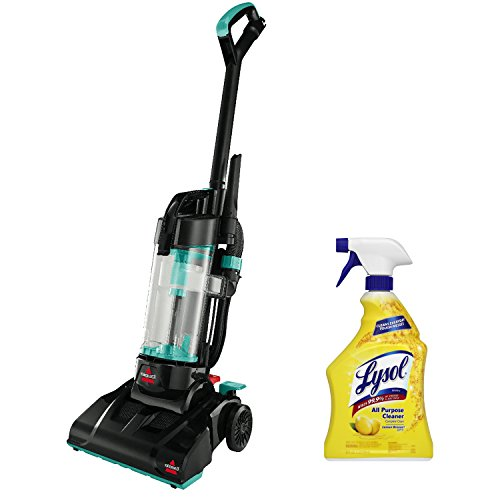 NEW! Best Vacuum Cleaner Bissel Upright Powerforce Pet Hair Bagless Allergy with BONUS Lysol All Purpose Cleaner (Bissel Power Track Vacuum compare prices)