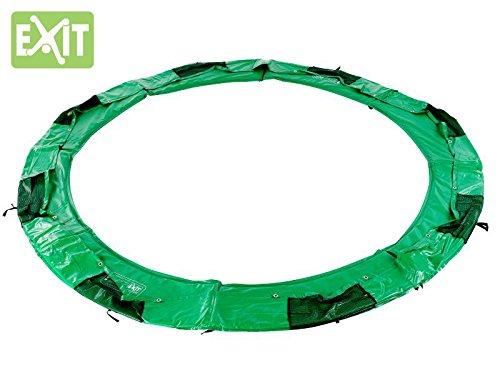 EXIT InTerra Rund Schutzrand 8ft / passender Abdeckrand - Zubehör für EXIT InTerra Trampolin Ø 244 cm rund grün / Lieferung OHNE Trampolin