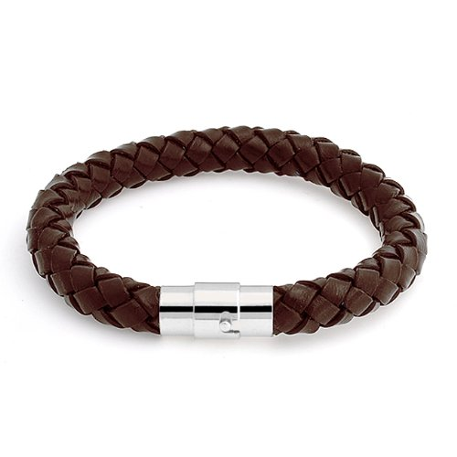 Bling Jewelry Brown Unisex Braided Round 8mm