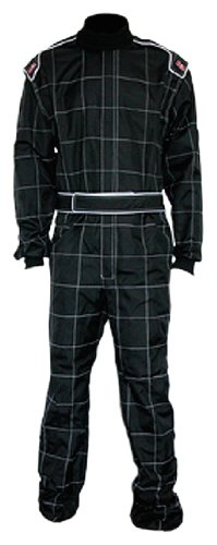 K1 Race Gear 10043022 Black X-Large Level 2 Evo X Karting Suit