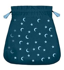 Moon and Stars Velvet Bag (Bolsas de Lo Scarabeo Tarot Bags From Lo Scarabeo) Lo Scarabeo