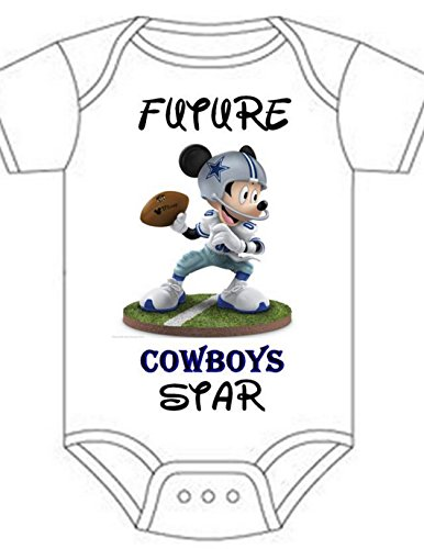 Fuzzy Dallas Cowboys Onesie For Adults