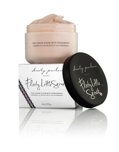 Booty Parlor Flirty Little Secret Pink Caviar Body Scrub with Pheromones