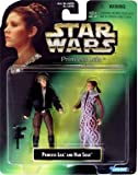 Star Wars Princess Leia Collection Prince Leia and Han Solo Action Figure Set