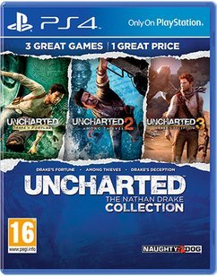 Uncharted: The Nathan Drake Collection [Edizione: Regno Unito / Gioco giocabile in italiano]