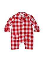 Pitter Patter Baby Gifts Body (Rojo / Blanco)