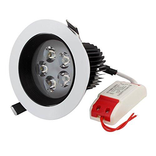Ac 85-265V 5W Non Glare 5 Leds White Led Light Downlight Lamp Bulb