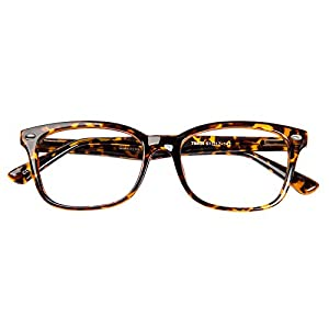 Glassesshop Vintage Tortoise Hyannis Rectangle Eyeglasses Frame