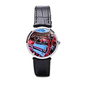 Frendship Kongaloid Leather Strap Mens Watches