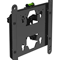 "OLLO: GearDrive®-S 18-37"" Tilt / Tilting Low Profile Universal TV Wall Mount Bracket, Cable Management , baked enamel finish, LCD, LED, Plasma"