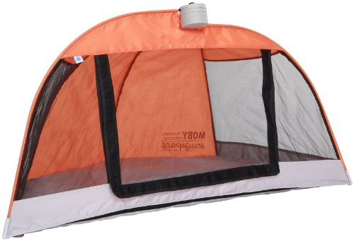 Moby Snugspace Tent - Toddler - Orange front-682919