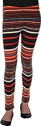 BONNE VIE Women's Cotton & Lycra Leggings (LgB-1_S, Multi-Coloured, S)
