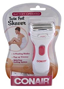 Conair LWD1 Ladies Twin Foil Shaver Reviews 2019