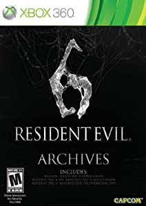 Resident Evil 6 Archives - Xbox 360 Standard Edition