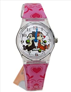 Pink Chip and Dale Watch - Pink Band Chip and Dale Watch