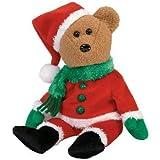 TY Kringle the Santa Bear Beanie Baby