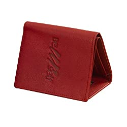 eZeeBags Internationally acclaimed trifold design - simple, sleek & functional, genuine leather-eZeeBags-BY022v1.In 12 colors.