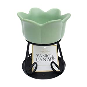 Yankee Candle Green Petal Wax Burner by Yankee Candle